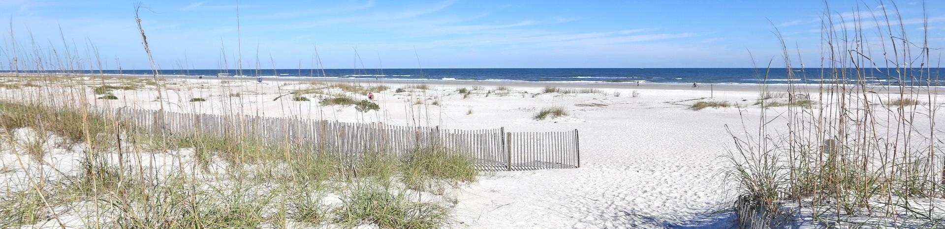 F Street Beach panoramic